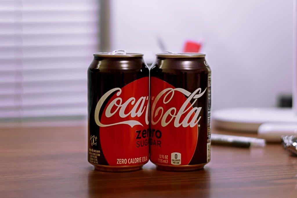 zero sugar coca cola