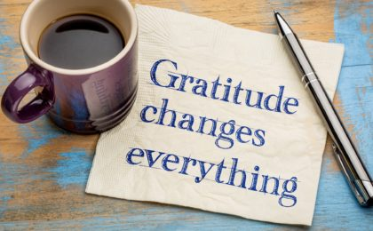 gratitude the secret to a happier life