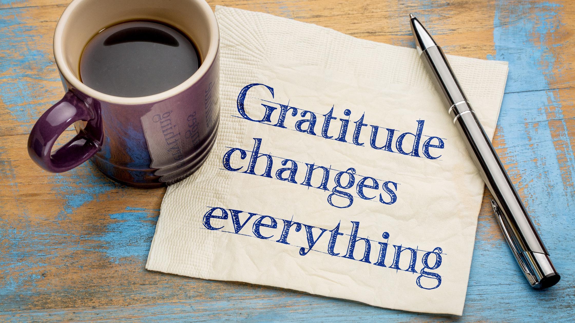 Gratitude – The Secret To A Happier Life