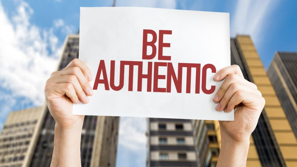 the joy of living an authentic life