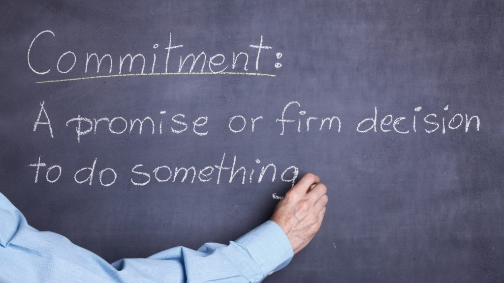 Goal Commitments - How Strong Are Yours