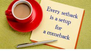 setbacks in life