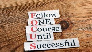 keep focussed